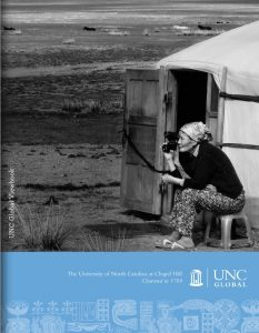 Cover of UNC Global viewbook. Click to view viewbook in full.