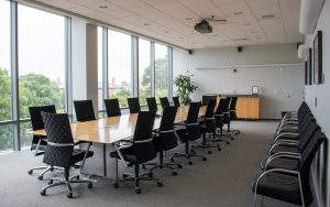 Picture of DeBerry Conference Room at the FedEx Global Education Center