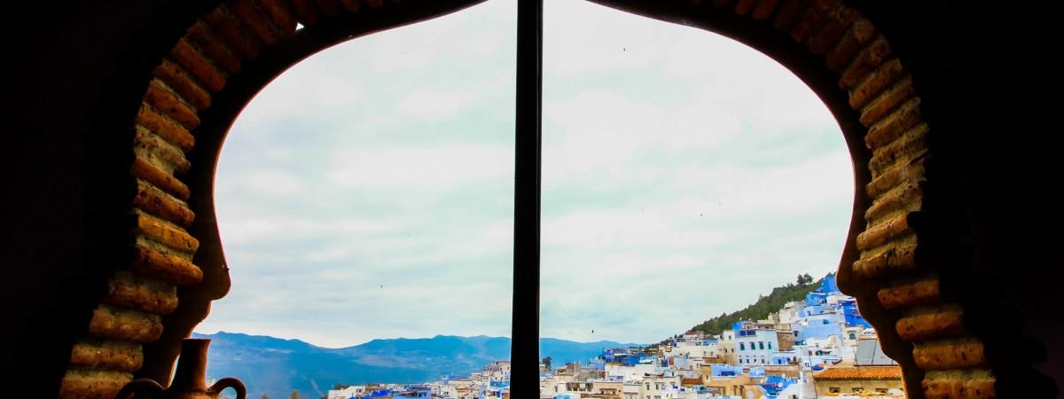 Window overlooking ci