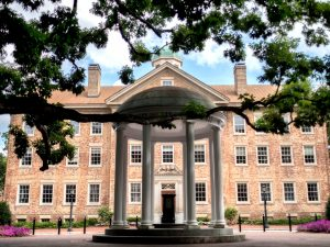 The Old Well. Located on the campus of UNC-Chapel Hill.
