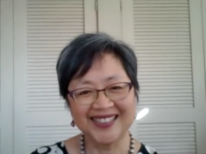 Headshot of Christine Yano.