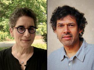 Headshots of Victoria Rovine and Sudhanshu Handa